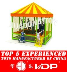New Design Customized Manufacturer for Children Kids Outdoor/Indoor Playground Big Slides for Sale -Trampoline New Model 2015 HD15b-130d pictures & photos