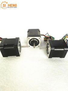 Chinese Supplier 42mm Small Stepper Motor for Printing Machine (Double shaft)