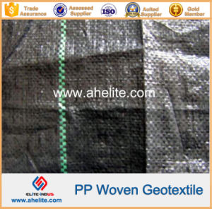 Polyester Polypropylene PP Pet Woven Geotextiles pictures & photos