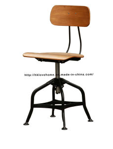 Industrial Dining Turner Vintage Toledo Plywood Wooden Bar Stools Chair pictures & photos