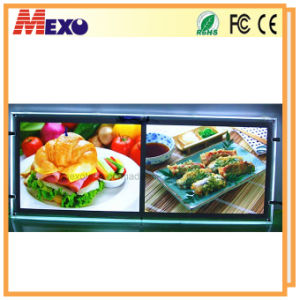 A4X2 Hanging LED Backlit Display Light Box (CSH01-A4Lx2) pictures & photos