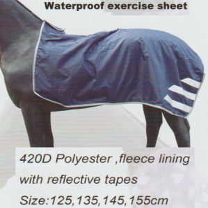 Waterproof Exercise Sheet&Fleece Exercise Sheet&Fleece Riding Rug