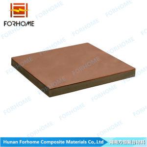 Copper/Aluminum/Copper Triplate Clad Plate/Cladding Sheet/Bimetal Materials with Explosive Welding Technology pictures & photos
