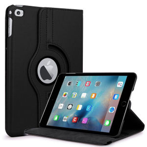 360 Degree Rotating PU Leather Case for iPad Mini 4 pictures & photos