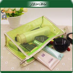 Outdoor Printed Polyester Travel Wash Cosmetic Bag with Zipper pictures & photos