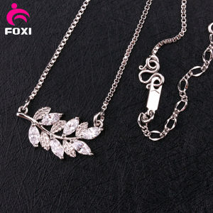 Newest Design Gemstone Silver Necklace pictures & photos