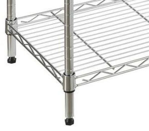 3 Tier Chrome / Powder Coated Homeware Kitchenware Wire Shelving pictures & photos