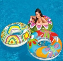 PVC Inflatable Adult Colourful Swim Ring pictures & photos