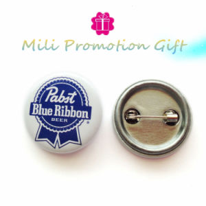 Beer Promo Hot Sale Gift Print on Iron Round Badge pictures & photos