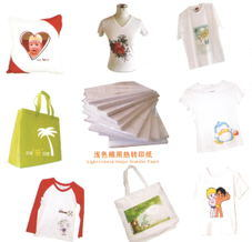 Inkjet Transfer Paper for Light-Colored Cotton pictures & photos