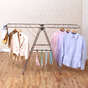 Foldable Stainless Steel Multi Purpose Clothes Drying Rack pictures & photos