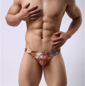2016 New Design Printed Polyester/Spandex Fashion Men Briefs pictures & photos