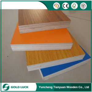 Marine Melamine MDF Board Sheet for Furniture Making and Decoration pictures & photos