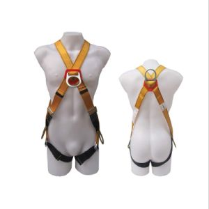High Quality Professional Polyester Worker Full-Body Safety Harness Belt pictures & photos