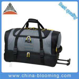 Large Travel Sports Outdoor Gym Traveling Trolley Luggage Bag pictures & photos