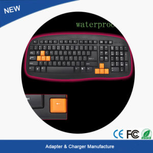 Hot Sales! Computer Keyboard LED Backlight Gaming Game USB Wired PC Keyboard pictures & photos