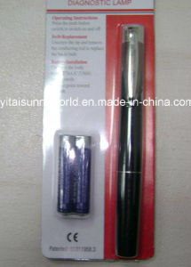 Plastic Penlight with 2PCS AAA Battery (SW-PL07) pictures & photos