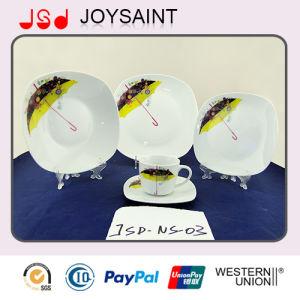 Best Quality Square Shape Ceramic Porcelain Tableware Dinnerware Dinner Plate