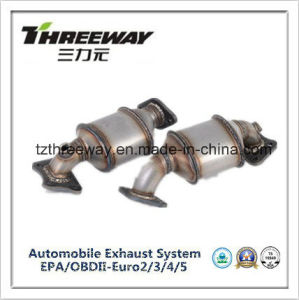 Three Way Catalytic Converter Direct Fit for Gl8 3.0 pictures & photos