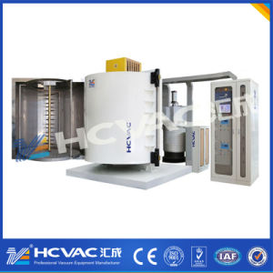 Hcvac Huicheng Plastic Metallized Mirror Finished PVD Vacuum Coating Equipment pictures & photos