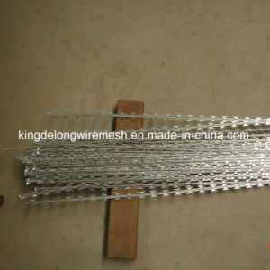 High Tensile Strength Galvanized Razor Barbed Wire (KDL-23) pictures & photos