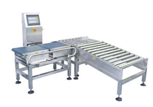 Conveyor Belt Check Weigher with Rejection System pictures & photos