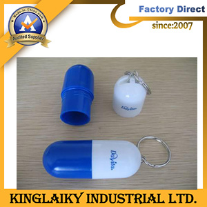 Novelty Plastic Pill Boxes in Key Chain Design (MDG-27) pictures & photos
