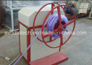 Plastic Soft PVC/SPVC Fiber Reinforced Tube Extrusion Line pictures & photos