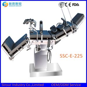 Medical Instrument Operating Theater Hospital Surgical Electric Operation Table pictures & photos