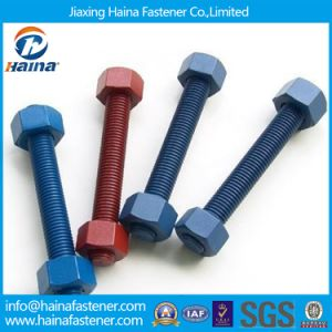 Teflon/PTFE Threaded Rods & Heavy Hex Nuts (A194, A193, A320) pictures & photos