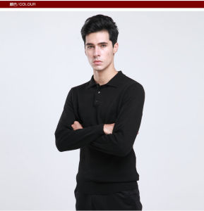 Yak Wool Pullover Round Neck Garment/ Cashmere Knitwear/Clothing/Men Sweater pictures & photos