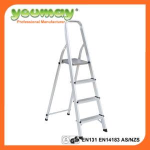 En131 Aluminum Step Ladder Af0304A/Werner Ladders/Foldable Ladder