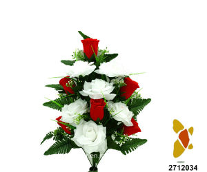 Artificial/Plastic/Silk Flower Rose Lying Bush (2712034) pictures & photos