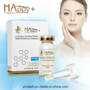 Skin Care Serum Super Miosturizing Pure Natural Happy+ Hyaluronic Acid Serum pictures & photos
