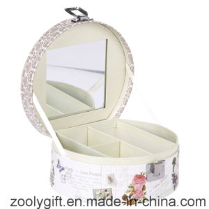 Printed Cosmetic Gift Box / Promotional Paper Music Box with Mirror and Lock pictures & photos