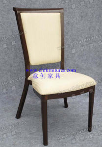 Aluminum Tube Wedding Fabric Banquet Chair (YC-ZL56) pictures & photos