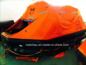 Solas Marine30 Man Throw Overbord Inflatable Life Raft pictures & photos
