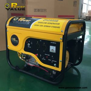 Zh2800 Motor 6.5HP Genset 2.5kVA 2kw AVR Generator Gx200 Pieces Generator pictures & photos
