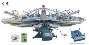 Automatic Textile Screen Printing Machine (ZXYH-156/8) pictures & photos