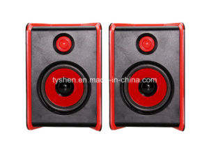 USB Speaker with Housing Case Like Wood pictures & photos