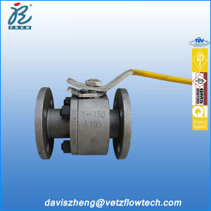 1 in Class150 RF Forged Steel Fire Safe Anti-Static PTFE Floating Ball Valves