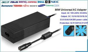90W Universal Laptop AC Adapter
