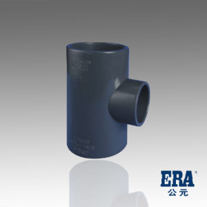 UPVC Pressure Pipe Fittings Reducing Tee pictures & photos