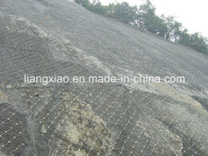 Rockfall Protection System High Tensile Steel Wire Mesh From Anping China pictures & photos