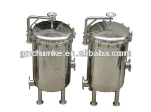 Industrial Ss304 Security PP Cartridge Filter Housing Water Filtration Machine pictures & photos