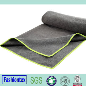 Non Slip Super Absorbent Gym Towel Microfiber Yoga Towel pictures & photos