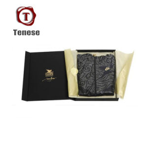 New Design Black Collapsible Paper Cardboard Folding Boxes pictures & photos