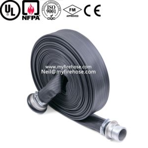 Nitrile Rubber Durable Fire Canvas Hose, Flexible Fire Fighting Hose pictures & photos