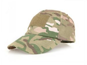 Anbison-Sports Tactical Army Military Hiking Baseball Cap with Verclo Panels pictures & photos