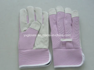 Pink Garden Glove-Cheap Glove-Safety Glove pictures & photos